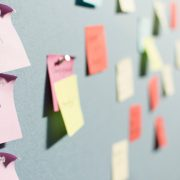 lavagne, post-it e task del PED