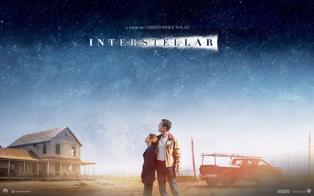 Uno dei miei film preferiti è Interstellar di Christopher Nolan