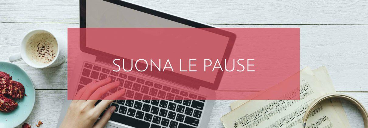 suona le pause con il PED piano editoriale digitale per la tua comunicazione online
